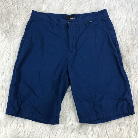 Hurley Flat Front Twill Cotton Shorts